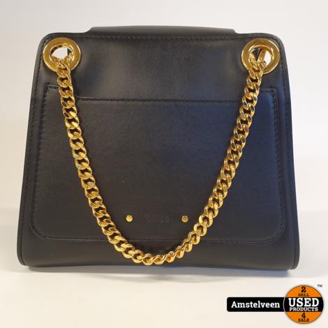 CHLOÉ 'Annie' Shoulder Bag Black Leather   Nette Staat