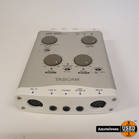 Tascam US-122l Mini Interface | Nette Staat
