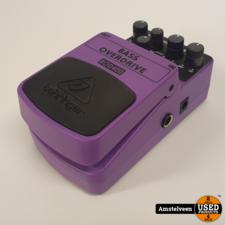 Behringer BOD400 Bass Overdrive effectpedaal | Nette Staat