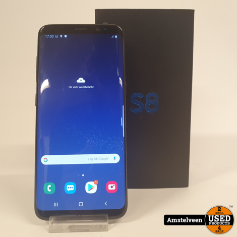 Samsung Galaxy S8 64GB Black | Nette Staat in Doos