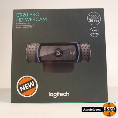 Logitech C920 HD Pro webcam | Nieuw in Seal