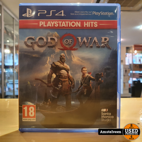 Playstation 4 Game: God of War