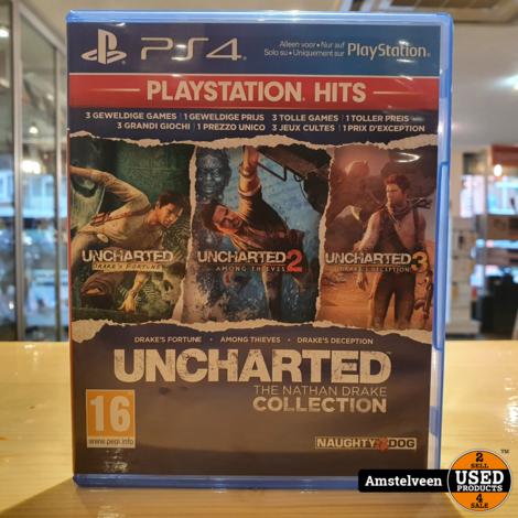 Playstation 4 Game: Uncharted The Nathan Drake Collection - PlayStation Hits
