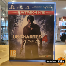 Playstation 4 Game:  Uncharted 4 A Thiefs End