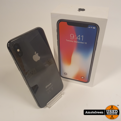 iPhone X 64GB Space Gray | incl. Lader & Garantie
