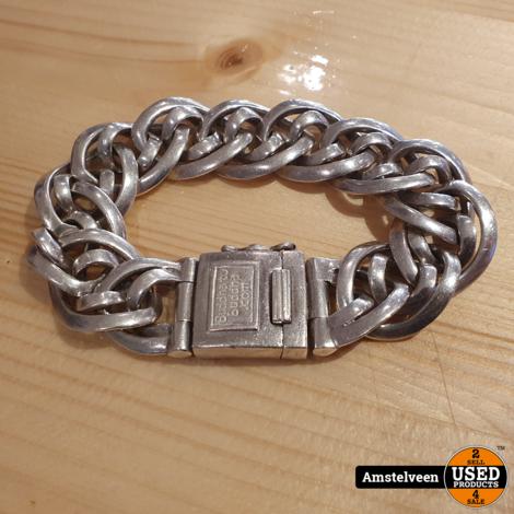 BUDDHA TO BUDDHA Zilveren armband nathalie small 211 19cm