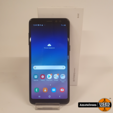 Samsung Samsung Galaxy A8 (2018) 32GB Duos Black | Nette Staat