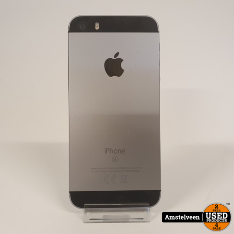 iPhone SE 32GB Space Gray #1 | Nette Staat