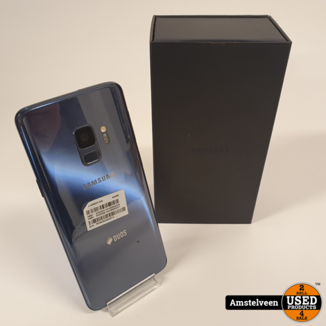 Samsung Galaxy S9 64GB Coral Blue | in Doos