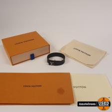 Louis Vuitton M6456E Mono Eclipse Black Bracelet | Nette Staat