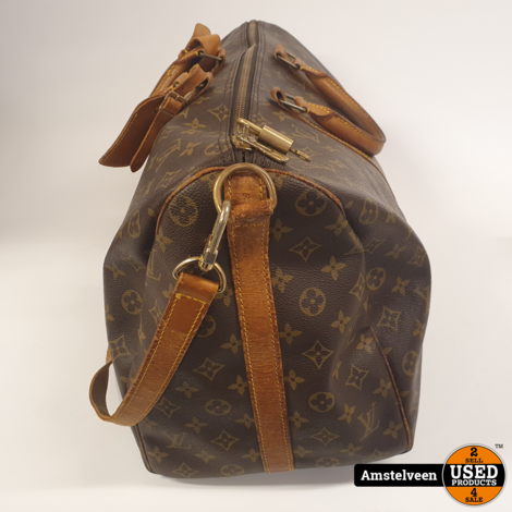 Louis Vuitton Keepall 50 Vintage 1987 Mono Brown