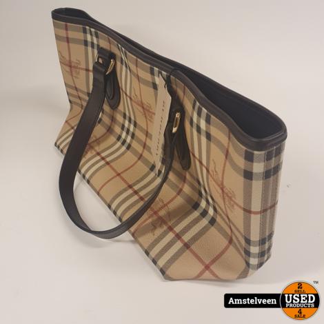 Burberry SM Nickie Shoulder Bag Beige | Nieuw