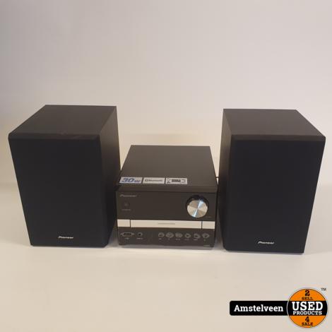 Pioneer X-EM22 HiFi Systeem Black | Nette Staat