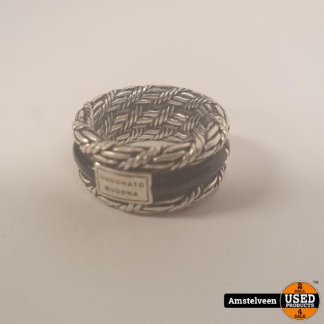 Buddha to Buddha 103 Ring 17 Ketut Stone zilver   Nette Staat