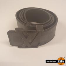 Louis Vuitton Damier graphite Belt M9808 85cm Black