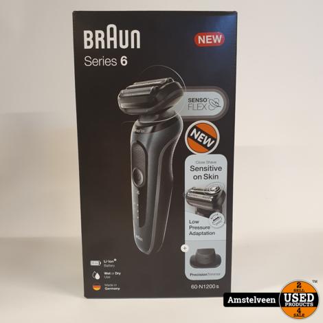 Braun Series 6 60-N1200s Grey   Nieuw in Doos