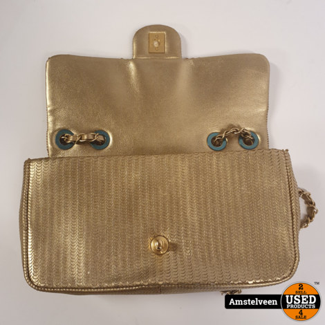 Chanel Leather Handbag Limited Gold | ZGAN Compleet