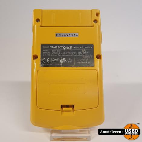 Gameboy Color Geel/Yellow | Nette Staat