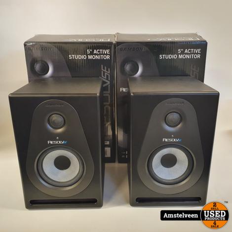 Samson Resolv SE5 Monitor Speakers Active (2Stuks)