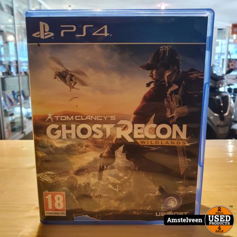 Playstation 4 Game: Ghost Recon Wildlands