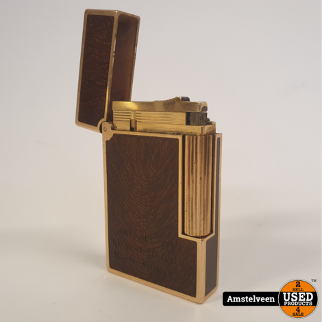 S.T. Dupont Aansteker/Lighter Gold/Goud