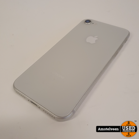 iPhone 8 64GB White   Nette Staat