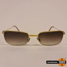 Cartier Bari Zonnebril Goud/Gold 140-56-19 | Nette Staat