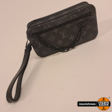 Louis Vuitton M68321  POCHETTE VOLGA 2020 Mono Eclipse | Nette Staat