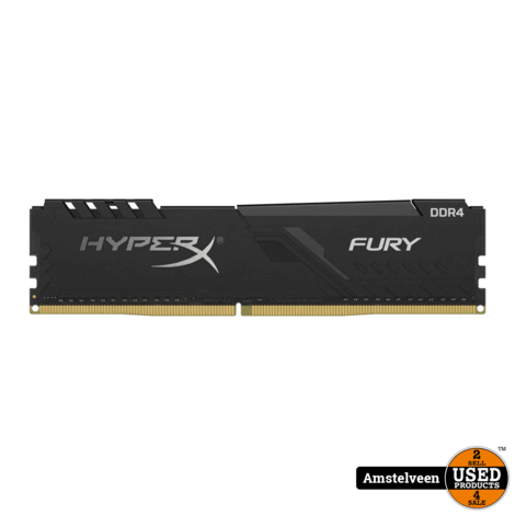 HyperX Fury black HX424C15FB4/16 | Nieuw