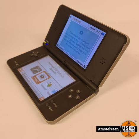 Nintendo DSi XL Brown | Nette Staat