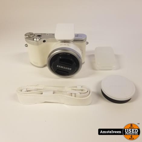 Samsung Galaxy NX300M 16-50mm OIS White | Nette Staat
