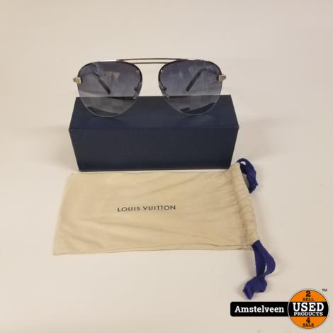 Louis Vuitton Z1271E  Clockwise Zonnebril 140   ZGAN in Koker