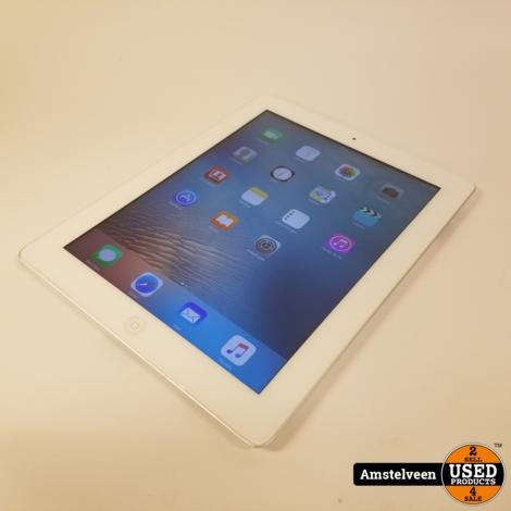 iPad 2 16GB Silver | Nette Staat