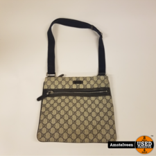 gucci Gucci Blue GG Supreme Messenger Bag 295257