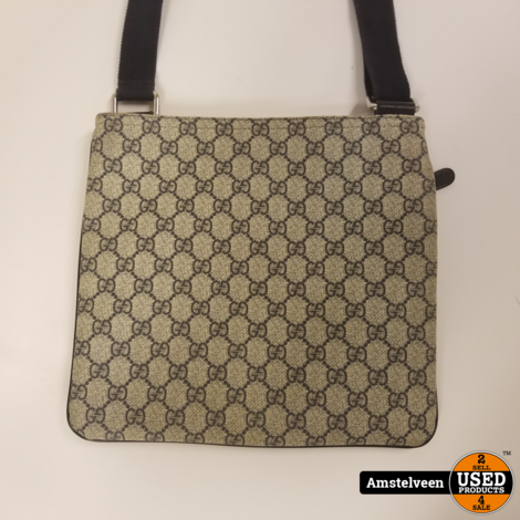 Gucci Blue GG Supreme Messenger Bag 295257