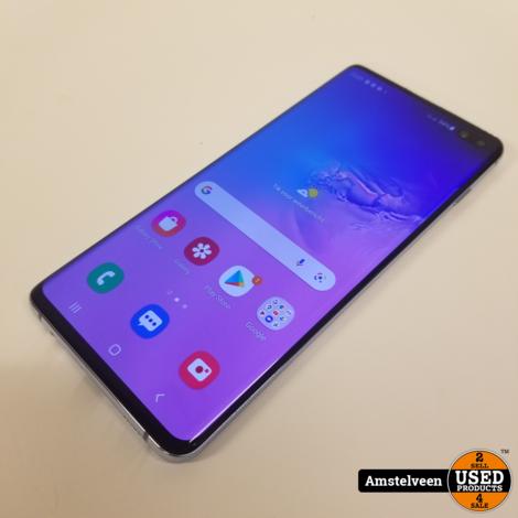 Samsung Galaxy S10 Plus 128GB Prism Blue   Nette Staat