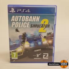 Playstation 4 Game: Autobahn Police Simulator 2