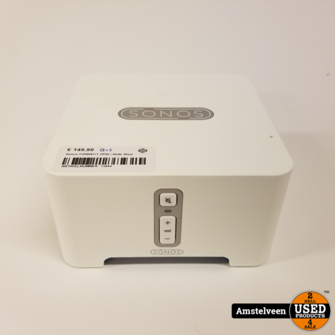 Sonos CONNECT ZP90 White   Nette Staat