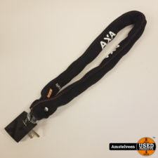 AXA Kettingslot Newton Promoto 4, 130cm ø10,5mm Zwart | Nieuw
