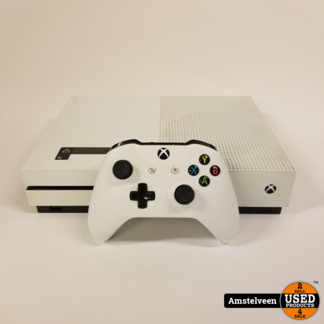 Xbox One S 500GB White   Nette Staat