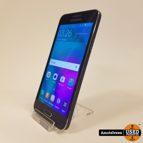 Samsung Galaxy A3 16GB 2016 Blauw   Nette Staat
