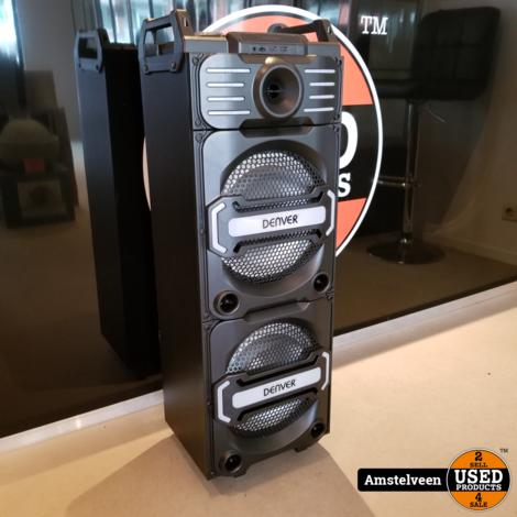 Denver DJS-3010 Mobiele luidspreker 25.4 cm 10 inch 30 W