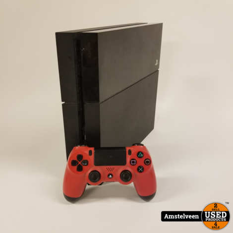 Playstation 4 500GB Black   Nette Staat
