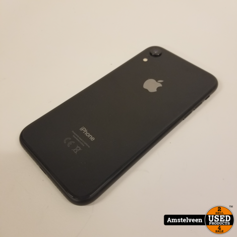 iPhone Xr 128GB Space Gray   Nette Staat
