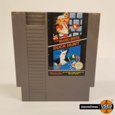 Nintendo Game:  Super Mario Bros + Duckhunt