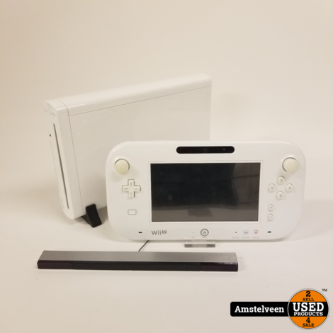 Nintendo Wii U 8GB White/Wit | Nette Staat