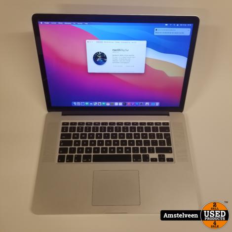 Macbook Pro 2015 15-inch   16gb i7 256GB   Nette Staat