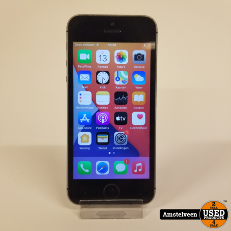 iPhone SE 32GB Space Gray | Nette Staat