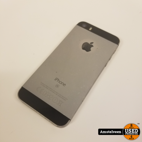iPhone SE 16GB Space Gray | Nette Staat