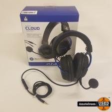 HyperX Cloud Gaming Headset Official Licensed PS4 - Zwart/Blauw | ZGAN